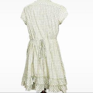 Converse Dresses - Converse Skater Ruffle Wrap Dress Size M